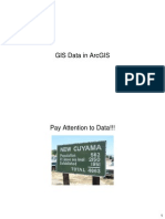 Gis Data in Arcgis