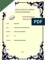 Informe - Sistema de Riego Por Inundacion