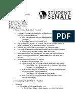 University of Kansas Nov. 6 Full Senate Minutes
