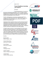 Coalition Letter to House and Senate Republican Leadership - Preserve the Sequester.pdf