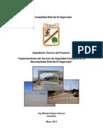 Proyecto Seguridad Ciud Algarrobal Presentacion Final