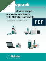 Libro Analisis de Agua Cromatografía