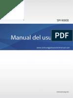 Samsung Galaxy Note 3 User Manual SM-N900, Jellybean, Spanish.Pdf