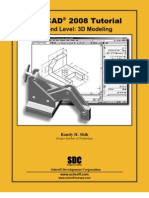 Autocad 2008 Tutorial (3D Modeling)