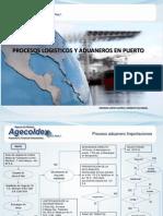 Proceso Logistico en Puerto