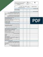 ADT-FO-331-016 Lista de Chequeo Para Servicio de Alimentos