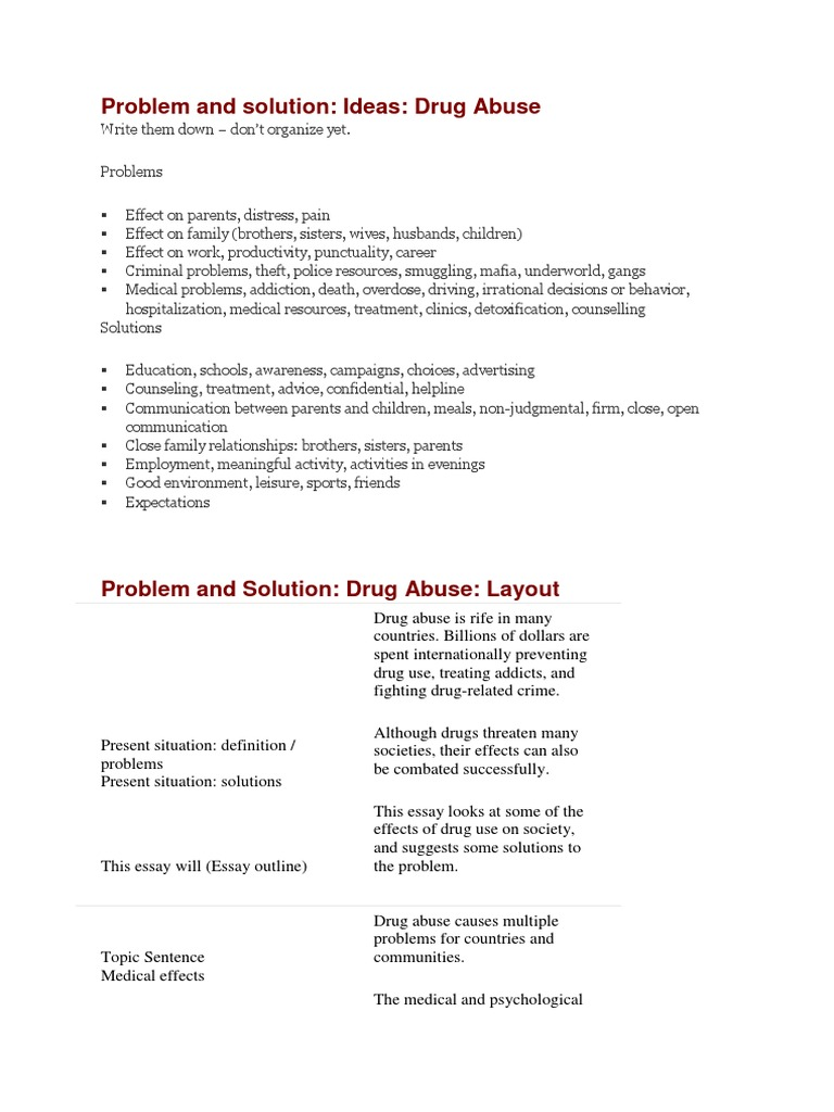 solutions to crime essay