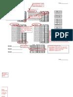 Archery Score Sheet Example