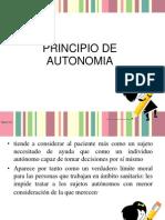 Principio de Autonomia