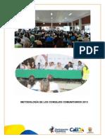 METODOLOGÍA DE LOS CONSEJOS COMUNITARIOS