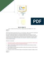 ACT 5 Quiz 1 Sociologia