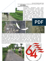 Jalan Desa Kedalingan Kec. Tambakromo Kab. Pati Jateng