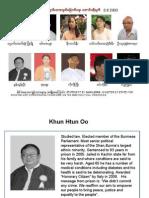 Some of Burma's Political Prisoners 1