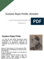 Unidad 6 Gustavo Rojas Pinilla - Luisa Fernanda Quintero Múnera