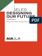 AIA|LA 2013 Advocacy Platform