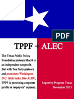 TX - TPPF + ALEC FULL REPORT