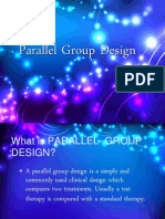 parallel group design