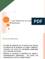 Plan de Negocios Resumen