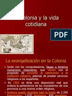 La colonia y la vida cotidiana.ppt