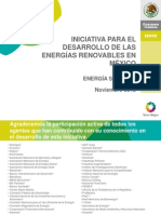 D121122 Iniciativa Renovable SENER_Solar FV
