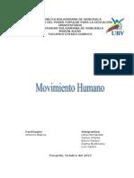 Análisis del movimiento humano