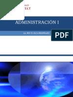 Clase Instroducción a la Administración