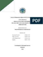 Program Kreativitas Mahasiswa (PKM-T)