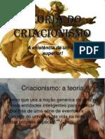 Teoria do Criacionismo.ppt