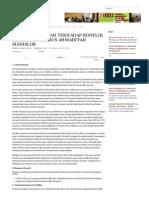 SIKAP PEMERINTAH TERHADAP KONFLIK KEAGAMAAN; KASUS AHMADIYAH MANISLOR.pdf