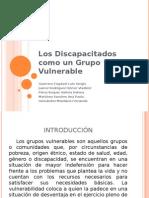 Los Discapacitados Como Un Grupo Vulnerable