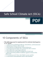 safe school climate act ssca