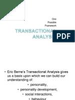 Transactional Analysis -(1)