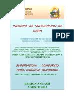 caratula INFORME HUALLANCA ADICIONAL Nº02