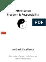 Netflix Culture presentation