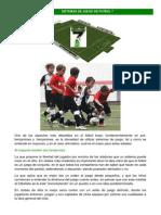 Sistemas de Juego de Futbol 7