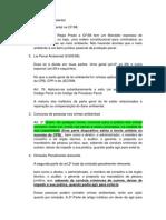 Direito Penal Legislação Especial Crimes ambientais- Delegado Federal - Anotações Aula