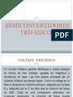 SEMICONVERTIDORES TRIFÁSICOS