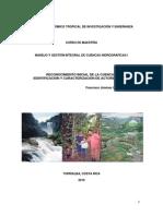 Reconocimiento de La Cuenca y Analisis de Actores