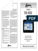 Manual - Tablet Tb-100