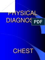 chest physical dx