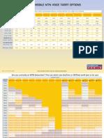 Mtn Tariff Sheet 220908
