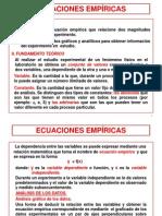 ECUACIONES EMPÍRICAS-1
