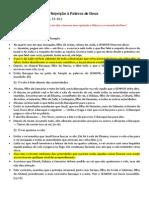 Palestras e Mensagens - 01.Rejeição à Palavra de Deus (Sem Imagem) NTLH - Leandro Maia