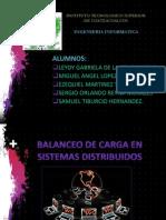 Balanceo de Carga en Sistemas Distribuidos