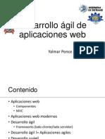 Desarrollo ágil de aplicaciones web