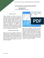 CONFIGURACIÓN BÁSICA DE ROUTER II