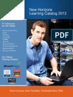 Learning Catalog 2013
