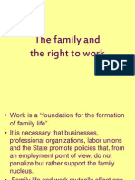 the family and right to work