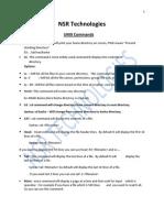 Unix Commands Print Feb 2013