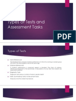 Types of Tests and Assessment Tasks.pptx